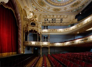 A varius of acts are performed at the Everyman theatre.