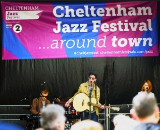 A Jazz Festival is organized every year there in Chetenham.