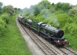 The heritage steam railway is a huge attraction.